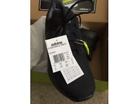 RRP £79.99 Adidas Cloudfoam Black Trainers Size UK 8.5