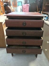 Vintage drawers FREE DELIVERY PLYMOUTH AREA