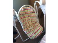 Baby rocking chair .