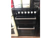 50CM BLACK HOTPOINT ELECTRIC COOKER
