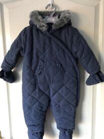 Baby boy's 6-9 mth Snowsuit