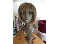 Mannequin head and wig