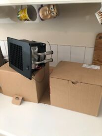 Boat or Caravan SILENCIO 12-Volt Heater Matrix Blowers For Sale