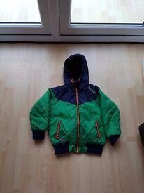 Boys Blue & Green Next Coat - Age 6