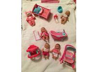 ELC Cupcake Mini Babies playsets