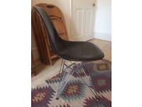Mid Century Original Eames DSR fibreglass Vitra Chair