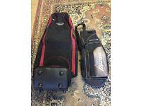 Golf travel bag, summer bag and push trolley
