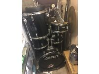 Drum set £75 or nearest offer. Drum set is in good condition