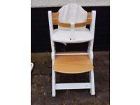 Noah bababing high chair similar to Stokke Tripp Trapp