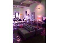 ☼ Natural Light Creative Studio ideal for Creative Professionals [✔] Super Fast Wifi [✔] 24/7 Access