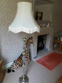 Beautiful Onyx & Glass Standard Lamp NOW REDUCED!