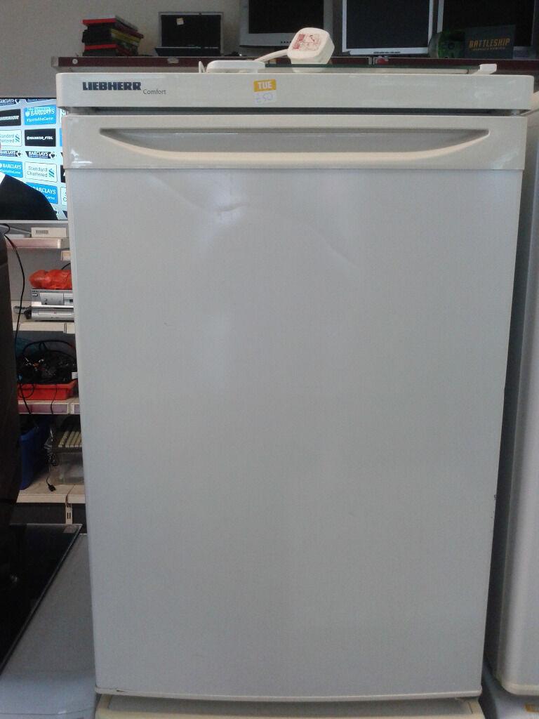 Liebherr Small White Fridge Freezer Used Gloucester In
