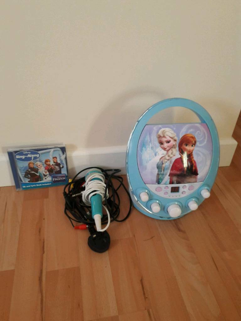 Frozen karaoke and sing along cd