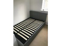 Small double ottoman bed with excellent storage