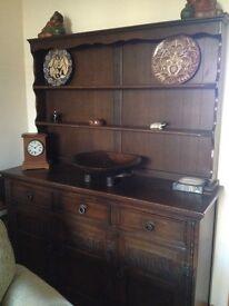 Dresser - Dark Wood - Good Condition