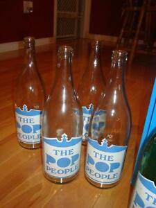 "Full Case Soda Bottles ""The Pop People"" from Oshawa ON - RARE !! Kitchener / Waterloo Kitchener Area image 9"