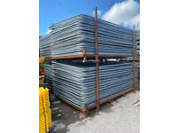Temporary Heras Site Security Fencing Panels - Used