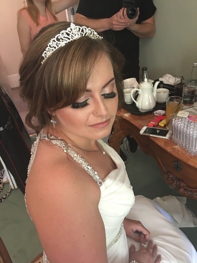 professional bridal hair and makeup artist | in bradford, west