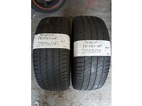 2X TYRES 225 50 17 MICHELIN