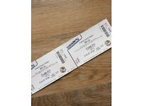 White Lies tickets x2