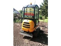 SUPERIOR MINI DIGGERS MINI DIGGER AND DRIVER HIRE FROM £225.00 PER DAY FULLY INCLUSIVE ....