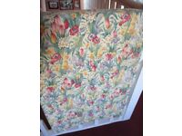Vintage lined beautiful curtains