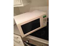 Large White Microwave
