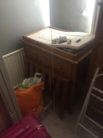 Wardrobe/change unit/chest of drawers (mother care)