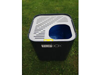 Large Petmate Sky Kennel dog/cat carrier IATA approved 30£ - Modcat vertical entry litter tray 40£