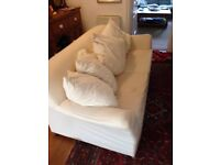 Ikea Tomelilla sofa bed, no covers, bed used twice so in vgc, sofa as per photos. 5 feather cushions