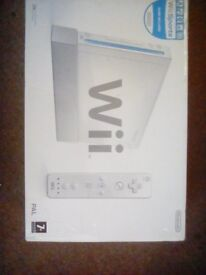 Nintendo Wii BOXED with Accessories