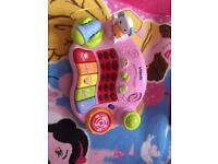 Musical piano toy like new