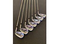 Ping i25 blue dot irons 4-pw stiff shaft