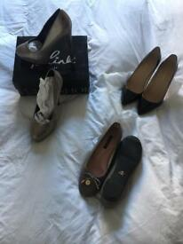 Three pairs of size 7 shoes - brand new
