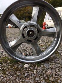 Honda front wheel