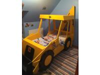 JCB kids bed.