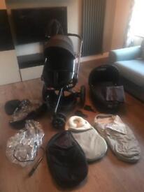 Quinny moodd pushchair travel system