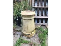 Vintage Chimney Pot Garden Planter Garden Feature