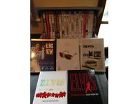 Large Elvis DVD collection
