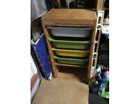 IKEA storage unit with drawers and/ or shelves