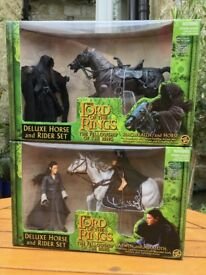 Lord Of The Rings - Fellowship Of The Ring Collectable Figures