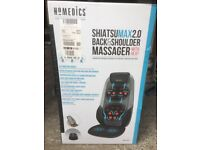 Shiatsu Max 2 Back and Shoulder Massager with heat from Homedics