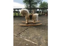 Genuine Steiff rocking horse - Steiff Franzi Riding Pony