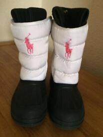 Girls Ralph Lauren Boots Size 2.5