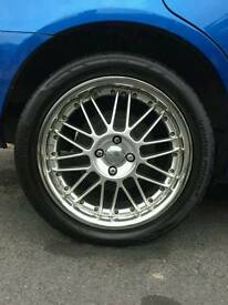 """17"""" 17 inch dare alloys alloy wheels with tyres"""