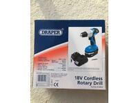 Draper Cordless Rotary Drill 18V