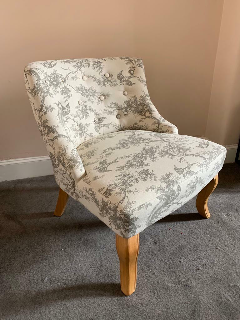 Terrific Toile Armchair In Southside Glasgow Gumtree Caraccident5 Cool Chair Designs And Ideas Caraccident5Info