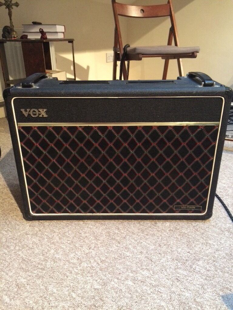 ac30. *new pics* 1981 vox v15 all tube with 2x10\ ac30