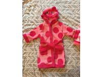 Miniclub dressing gown 12-18 months