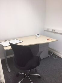 PRIVATE OFFICE/ DESK SPACE AVAILABLE NEAR CANARY WHARF ISLE OF DOGS E1 POSTCODE